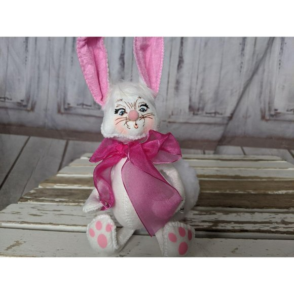 Annalee Other - Annalee Easter Spring Bunny Tails Fluffy White Big